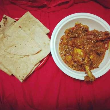 Photo of Dhaba style chicken. by Priyanka Nandi Sarkar at BetterButter