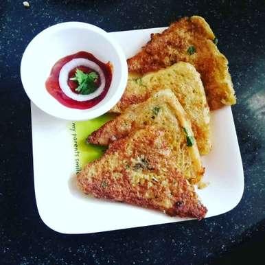 Photo of Masala bread toast. by Priyanka Nandi Sarkar at BetterButter
