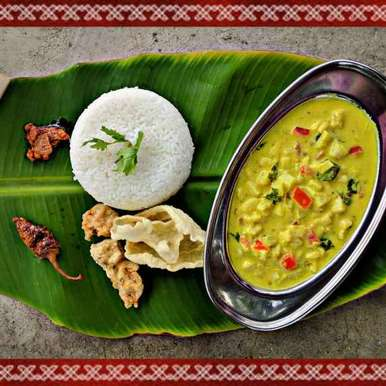 Photo of Banana stem buttermilk curry by Pinky Srini at BetterButter