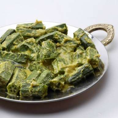 Photo of Vendakkai with Coconut Milk by Sanjula Thangkhiew at BetterButter