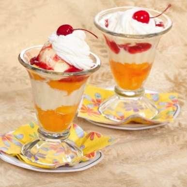 Peach Melba recipe in Hindi,पीच मेल्बा, Sanjula Thangkhiew