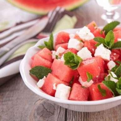 Photo of Watermelon Feta Cheese by Maisha Kukreja at BetterButter
