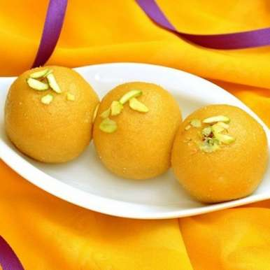 Photo of Besan ke laddu by Bindiya Sharma at BetterButter