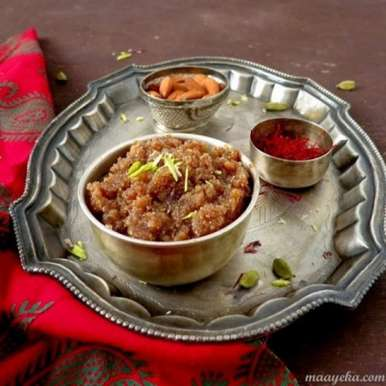 Photo of Instant Badam Halwa by Anjana Chaturvedi at BetterButter