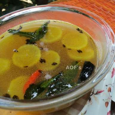 Gurubariya Ambila ( A rustic vegetable soup from Odisha ), How to make Gurubariya Ambila ( A rustic vegetable soup from Odisha )