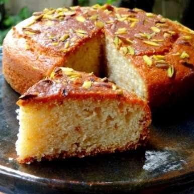 Photo of Egg less Vanilla Tea Cake by Namita Tiwari at BetterButter