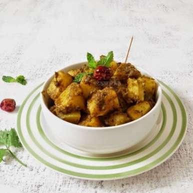 Photo of Pudina Aloo/Minty Potato by Anjana Chaturvedi at BetterButter