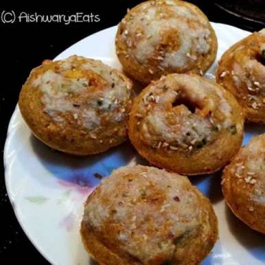 All Oats Low Fat Pizza Muffins, How to make All Oats Low Fat Pizza Muffins