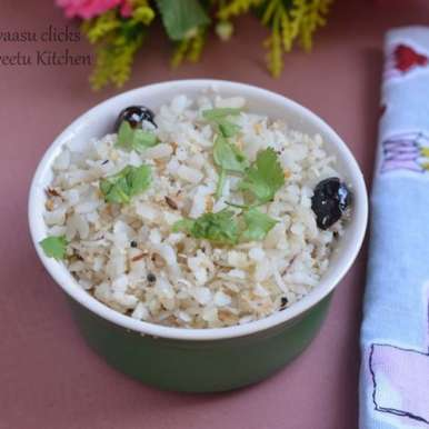 Photo of Coconut Poha by Priya Srinivasan at BetterButter