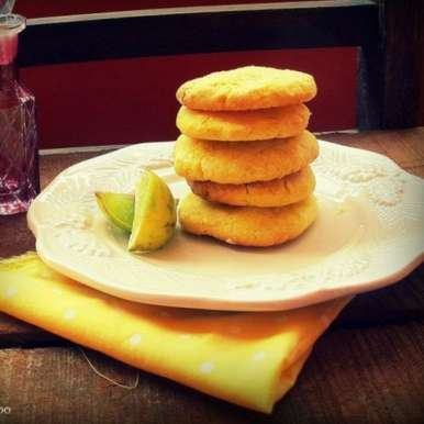 Photo of Coconut Lemon Cookies by Ruchira Hoon at BetterButter