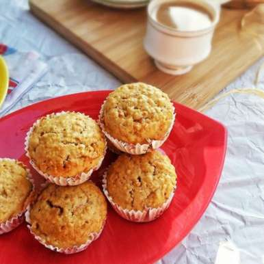 Photo of Carrot and Oat Muffins by Tasneem Rajkotwala at BetterButter