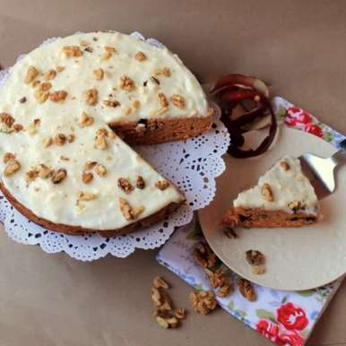 Photo of Carrot and Apple Cake by Ruchira Hoon at BetterButter