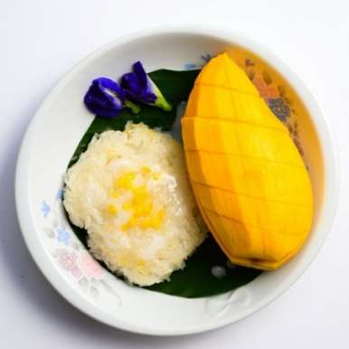 Photo of Thai Sticky Coconut Rice with Mango by Bindiya Sharma at BetterButter
