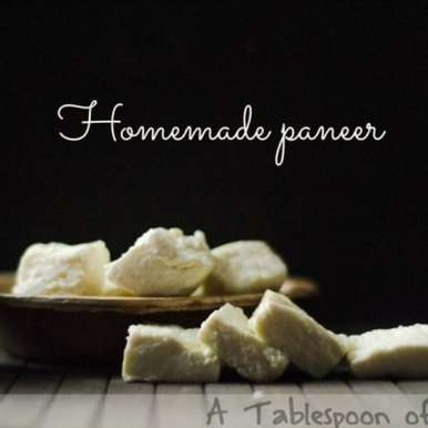 Photo of Homemade Paneer/Indian Cottage Cheese by Kishorah Zaufer at BetterButter
