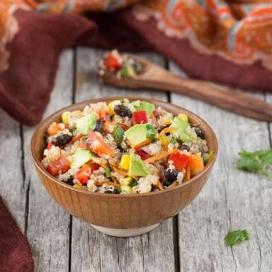 Photo of Quinoa Black Bean Corn Salad by Vardhini Koushik at BetterButter