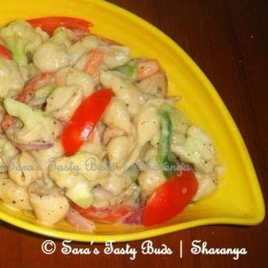 Photo of Cold Pasta Salad by sharanya palanisshami at BetterButter