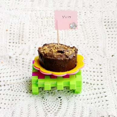 Photo of No-Bake Chocolate-Biscuit Mini Cakes by Lubna Karim at BetterButter