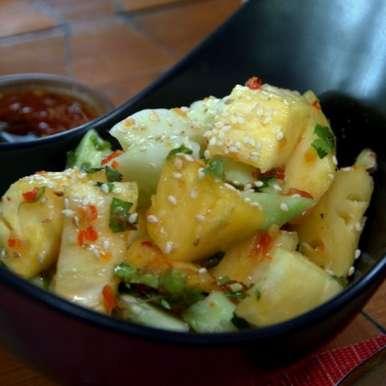 Photo of Pineapple cucumber salad by sangeeta khanna at BetterButter