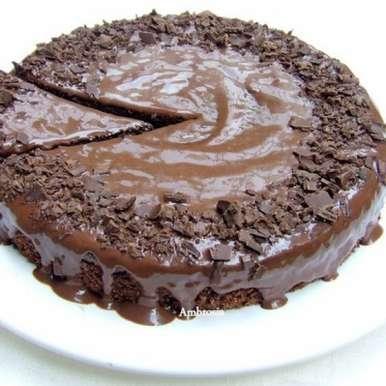 Photo of Eggless Chocolate Yogurt Cake (Whole wheat and Butter free) by Namita Tiwari at BetterButter