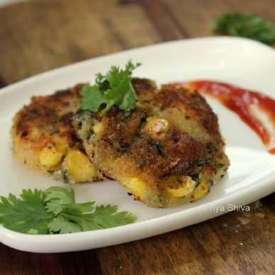 Photo of SPINACH CORN CUTLET by Priya Shiva at BetterButter