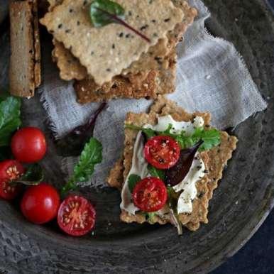 Photo of Oats Nut Crispbread by Deeba Rajpal at BetterButter