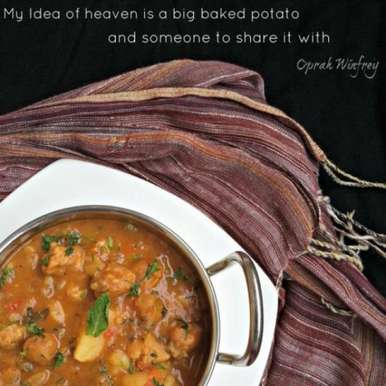 Photo of Simple Aloo Curry by Chaitra Dev at BetterButter