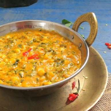 Photo of Methi Corn Malai (Fenugreek and Corn Curry) by Anjana Chaturvedi at BetterButter