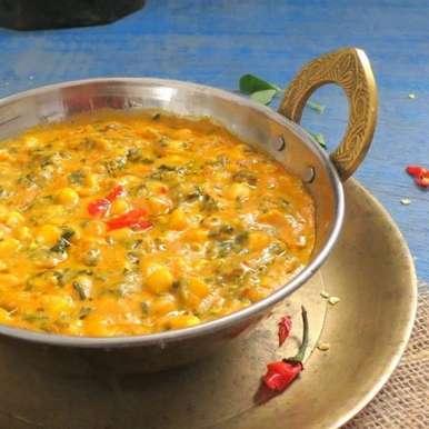 Photo of Methi Corn Malai (Fenugreek and Corn Curry) by Anjana Chaturvedi at BetterButter