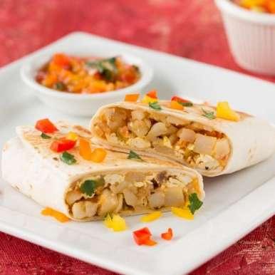Photo of Tofu Potato Breakfast Burrito by Vardhini Koushik at BetterButter