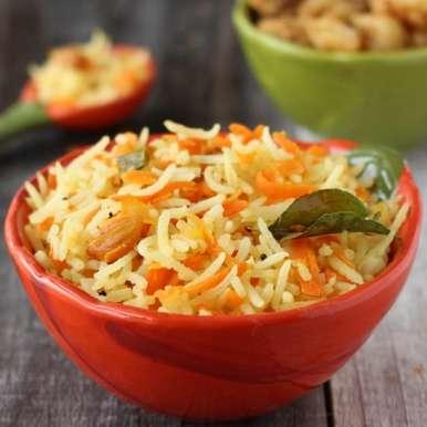 Photo of Carrot Lemon Rice by Vardhini Koushik at BetterButter