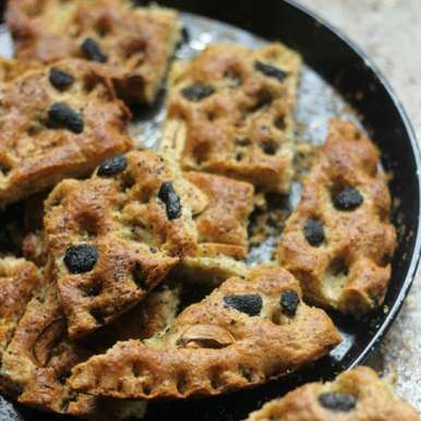 Photo of Whole Wheat Focaccia/ Italian Bread by Shweta Agrawal at BetterButter