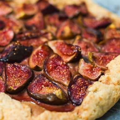 Photo of Roasted Fig Frangipane Galette by Shanti Petiwala at BetterButter