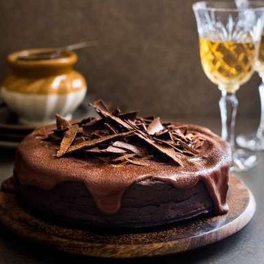Photo of Gluten Free Chocolate Beetroot Amaranth Cake by Himanshu Taneja at BetterButter