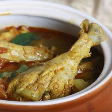 Photo of Kozhi Kuzhambu(Chicken curry~Chettinad style) by Bindiya Sharma at BetterButter