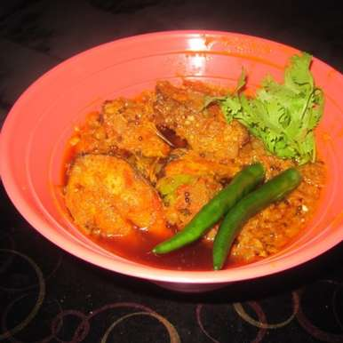 Photo of Rohu fish curry by Sujata Limbu at BetterButter