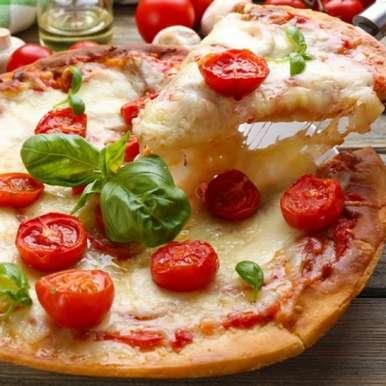 Photo of Tomato and Cheese Pizza by Sujata Limbu at BetterButter