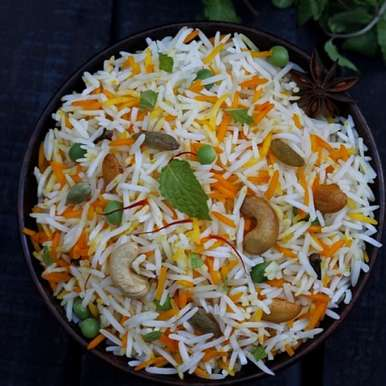 Photo of Orange scented Dry fruits Shahi Pulao by Sanjeeta KK at BetterButter