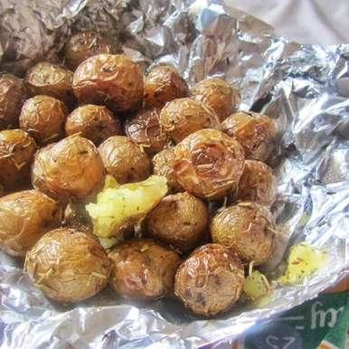 Photo of Crunchy Herb Baby Potatoes by Tasneem Rajkotwala at BetterButter