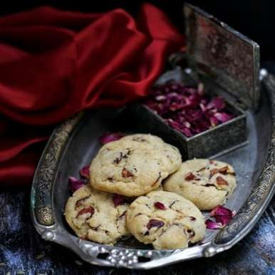 Photo of Rose and Fennel Oat Cookies by Sanjeeta KK at BetterButter