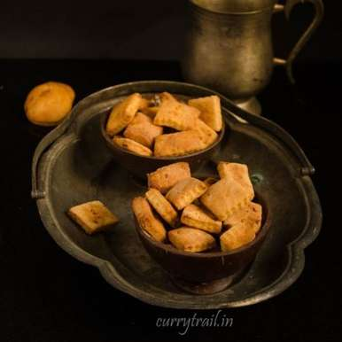 Photo of Healthy baked chickpea savoury cracker by Jyothi Rajesh at BetterButter