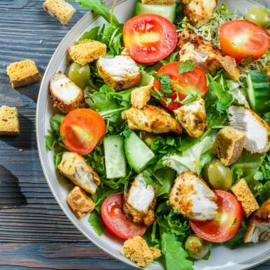 Photo of Caesar Salad by Sanjula Thangkhiew at BetterButter