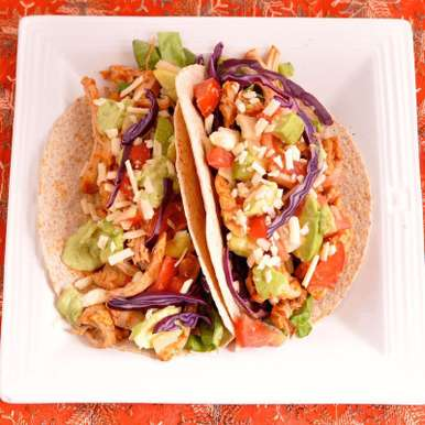 Photo of Pulled Chicken tacos by Smita Chandra at BetterButter