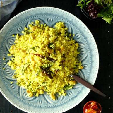Photo of Tempered Cauliflower Rice by Dhanya Samuel at BetterButter