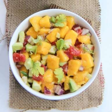 Mango Avocado Salsa, How to make Mango Avocado Salsa