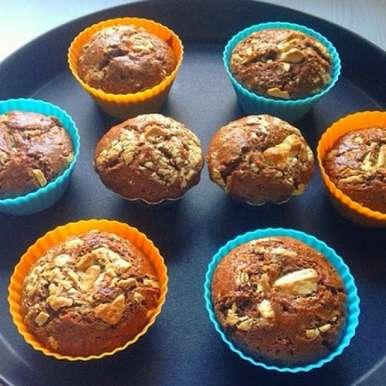 Photo of Chocolate Prune Muffins by Manisha Goyal at BetterButter