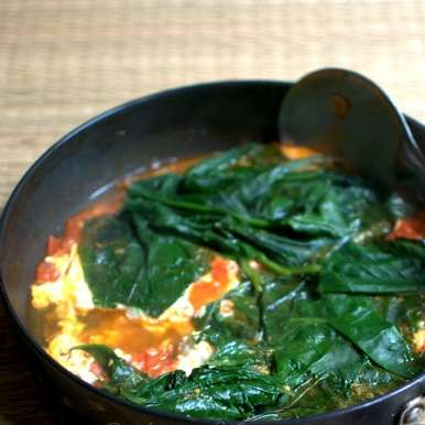 Photo of spinach shakshuka by sangeeta khanna at BetterButter