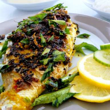Photo of Fried Snapper (Indian Style) by Dhanya Samuel at BetterButter