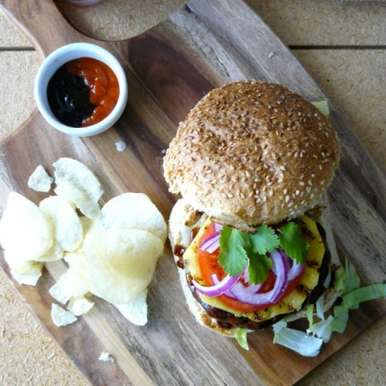 Photo of Pork Burger (Indian Style) by Dhanya Samuel at BetterButter
