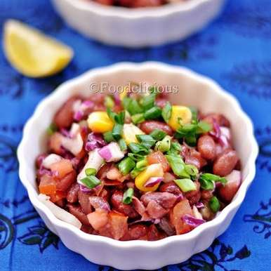 Photo of Purple Cabbage & Kidney Bean Salad In French Dressing by Pari Vasisht at BetterButter