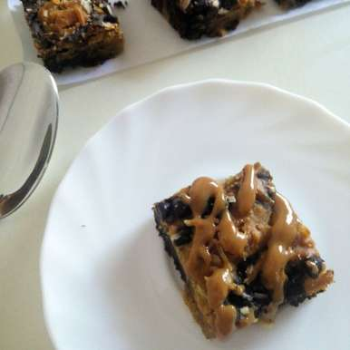 Photo of Gluten Free Healthy Blondies by pooja khanna at BetterButter